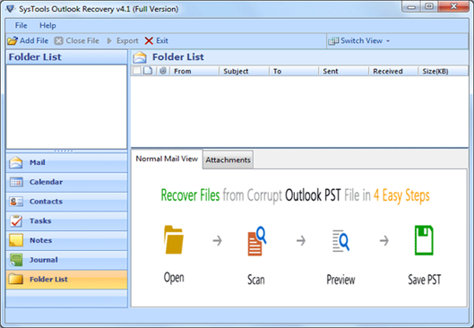 Outlook Document Recovery